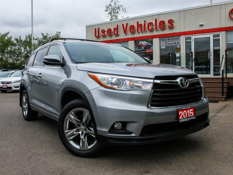 2015 Toyota Highlander Limited   Navi   Leather   Panoroof   Alloys #L7477