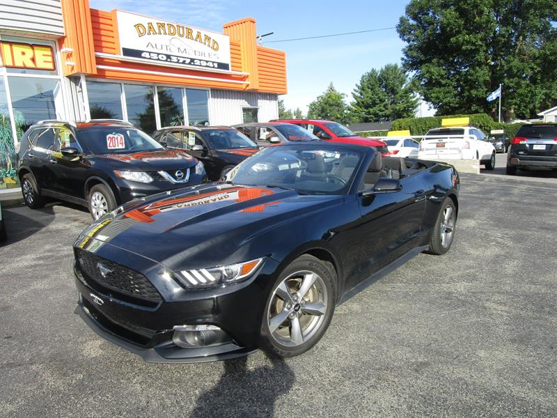 Ford Mustang 2016 2dr Conv V6 #2397A