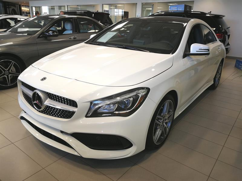 Mercedes-Benz CLA250 2018 4MATIC Coupe #18-0386