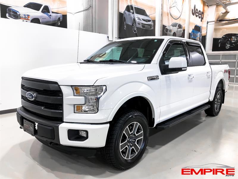 2015 Ford F150 LARIAT FX4 5.0L 502A #A6813