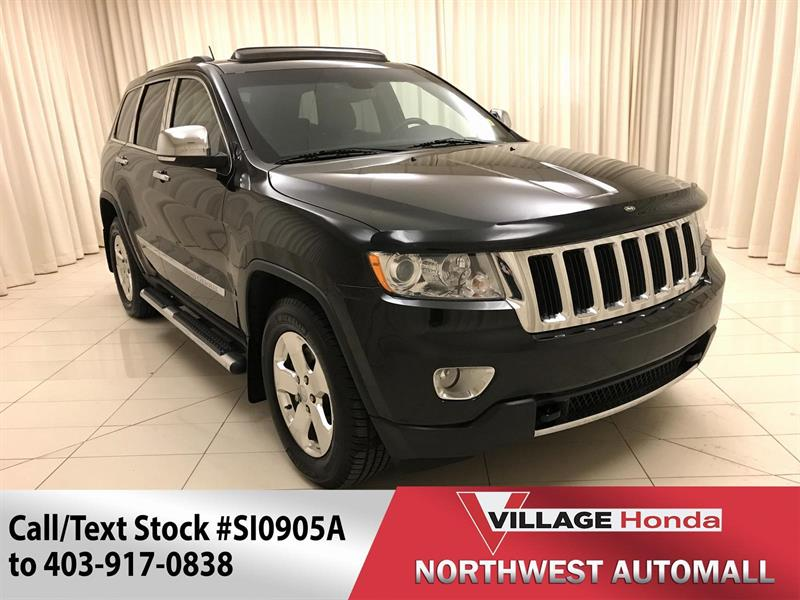 2012 Jeep Grand Cherokee Limited V8 4WD #SI0905A