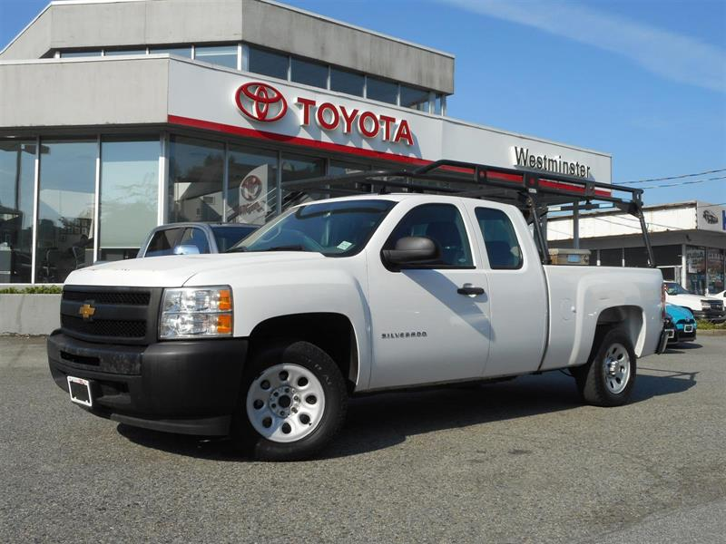 2013 Chevrolet Silverado Extended Cab Work Truck 4x2 #P6633T