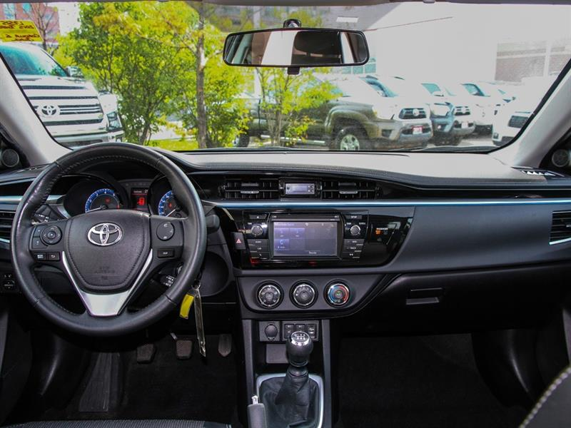Beautiful 2015 Toyota Corolla S H.Seats R.Cam B.Tooth Keyless Used For Sale In  Toronto At Yorkdale Toyota