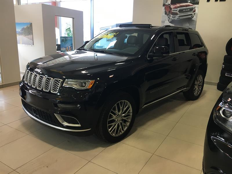 Jeep Grand Cherokee 2018 Summit 4x4 DEMO #C18126