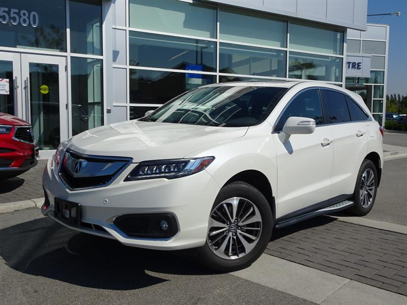 2017 Acura RDX 6-Spd AT AWD w/Elite Package #896683A