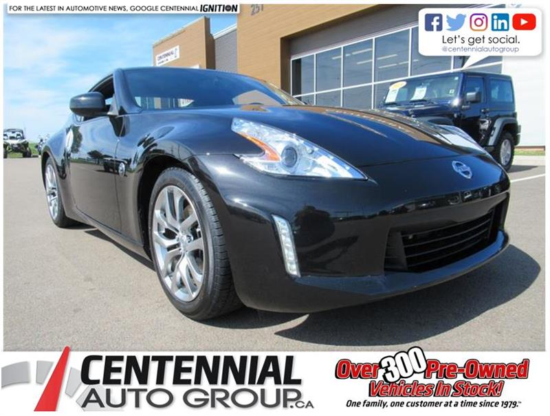 2014 Nissan 370Z Touring Coupe | 6 Speed Manual | Leather #U586