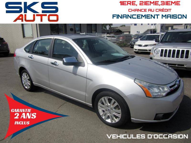 Ford Focus 2010 SEL (GARANTIE 2 ANS INCLUS) FINANCEMENT MAISON #SKS-4211