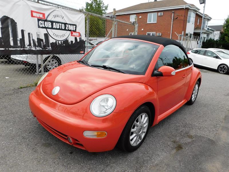 Volkswagen New Beetle Convertible 2005 GLS MANUEL DÉCAPOTABLE AIR CLIMATISÉ #5M368847
