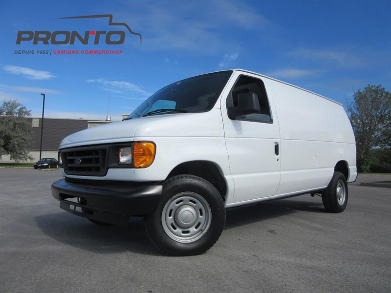 Ford Econoline Cargo Van 2005 #3715