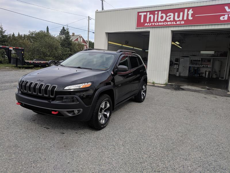 Jeep Cherokee 2015 4WD 4dr Trailhawk #14665A