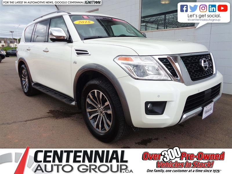 2018 Nissan Armada SL | 4x4 | Leather | NAV | Bluetooth | Moonroof #P18-107