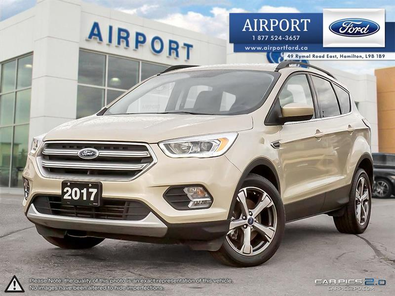 2017 Ford Escape SE FWD with only 36,392 kms #A90007