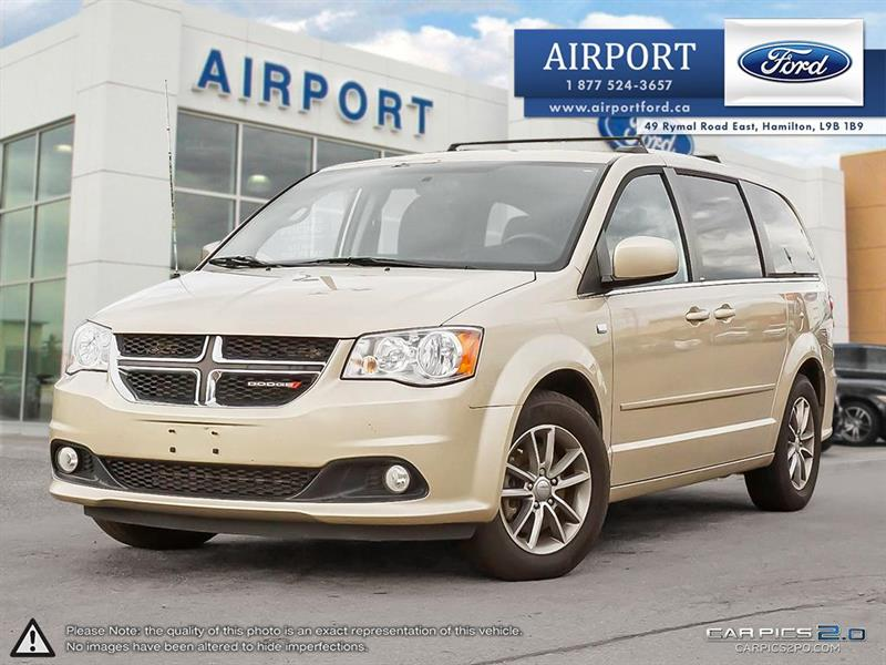2014 Dodge Grand Caravan SXT 30th Anniv. Edition with only 97,775 kms #A80366