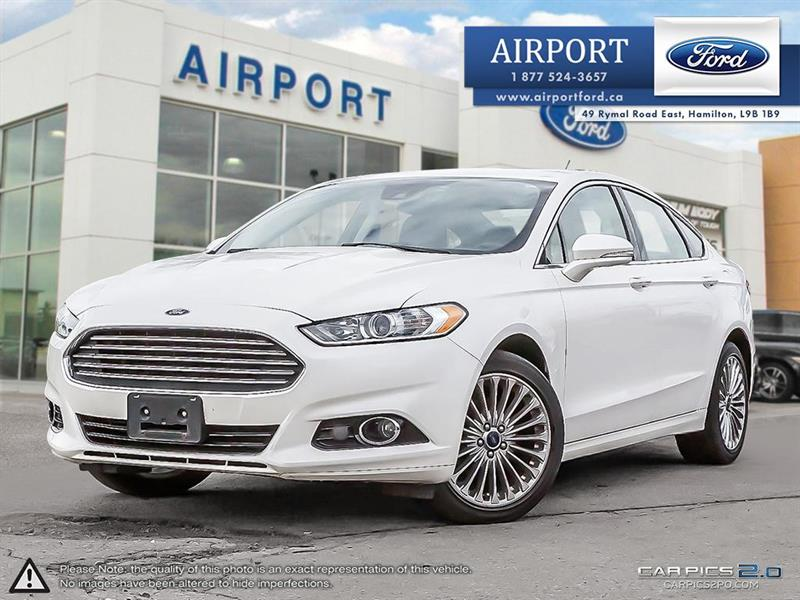 2015 Ford Fusion Titanium AWD with only 46,207 kms #B80591