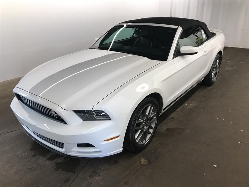 Ford Mustang 2014 CONVERTIBLE V6 Premium **GARANTIE 1 AN GRATUITE** #088-4281-AD