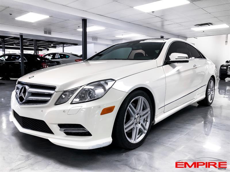 Mercedes-Benz Classe-E 2013 E350 AMG 4MATIC COUPE #A198706