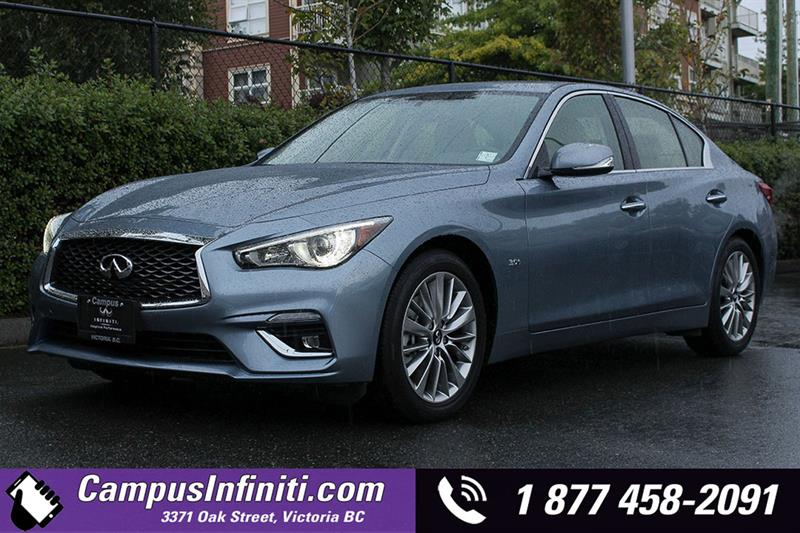 2018 Infiniti Q50 3.0T Luxe All-Wheel Drive with Essential #18-Q5005