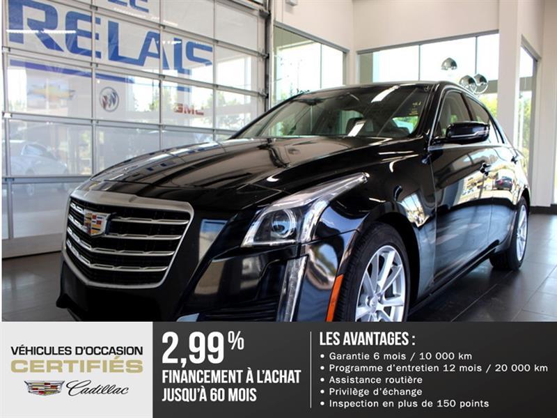 Cadillac CTS Sedan 2017 2.0L - CUIR - BLUETOOTH #82937