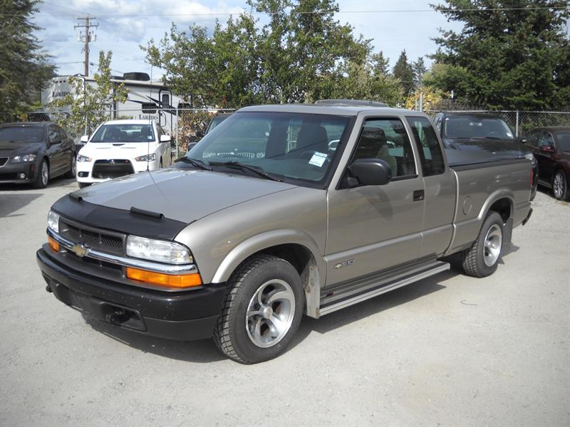 2002 Chevrolet S-10 Ext Cab  WELL MAINTAINED! #A8014