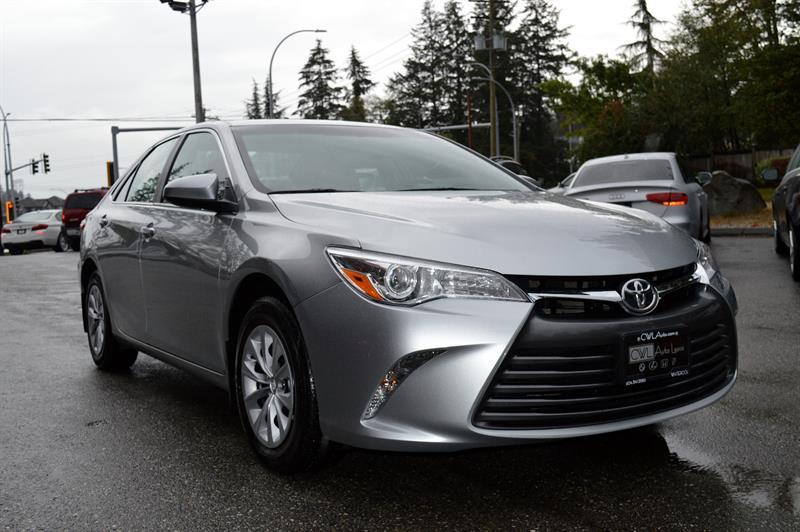 2015 Toyota Camry LE I4 Auto / Back Up / Bluetooth / AC #CWL8719M
