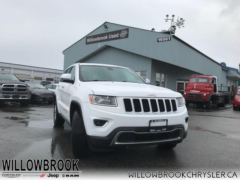 2014 Jeep Grand Cherokee Limited #18J192A