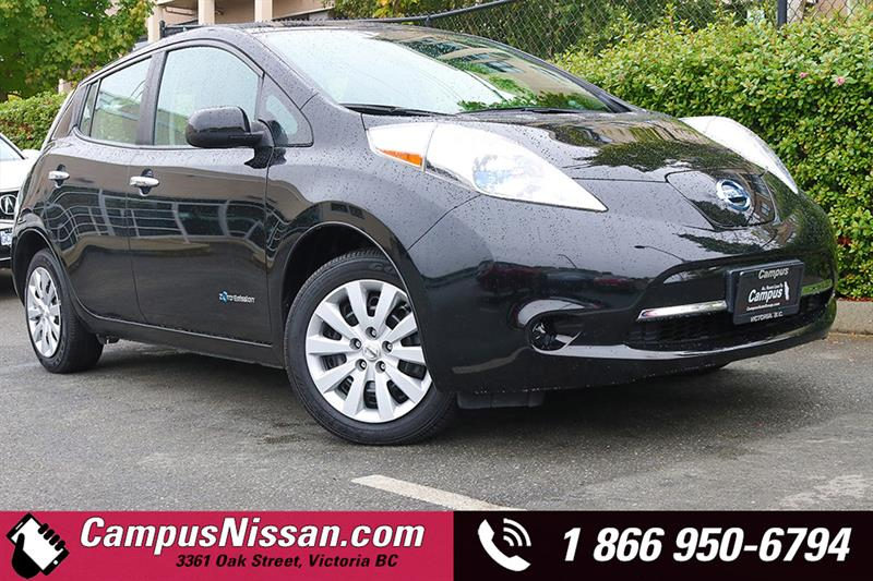 2013 Nissan Leaf S w/ Quick Charge #8-F257A