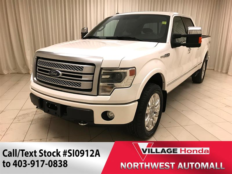 2013 Ford F-150 4WD SuperCrew #SI0912A