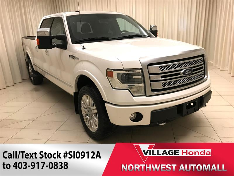 2013 Ford F-150 Platinum SuperCrew 157 4WD #SI0912A