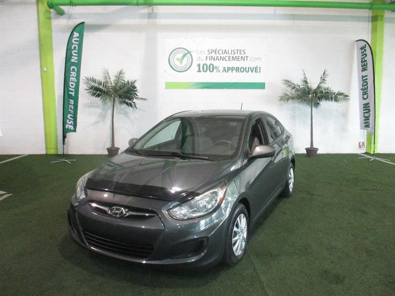 Hyundai Accent 2013 4dr Sdn GL #2399-09