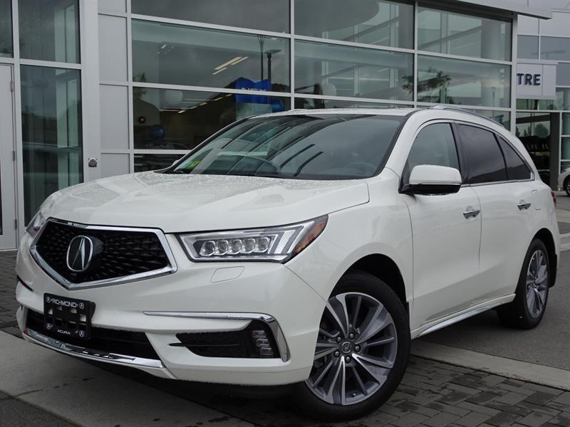 2017 Acura MDX 9-Spd AT SH-AWD w/Elite Package #P6001