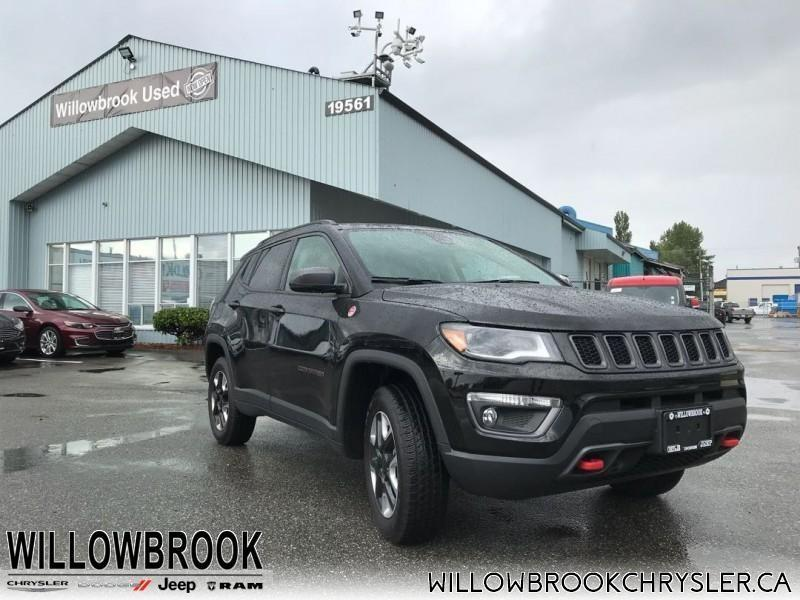 2017 Jeep Compass Trailhawk #18UP326
