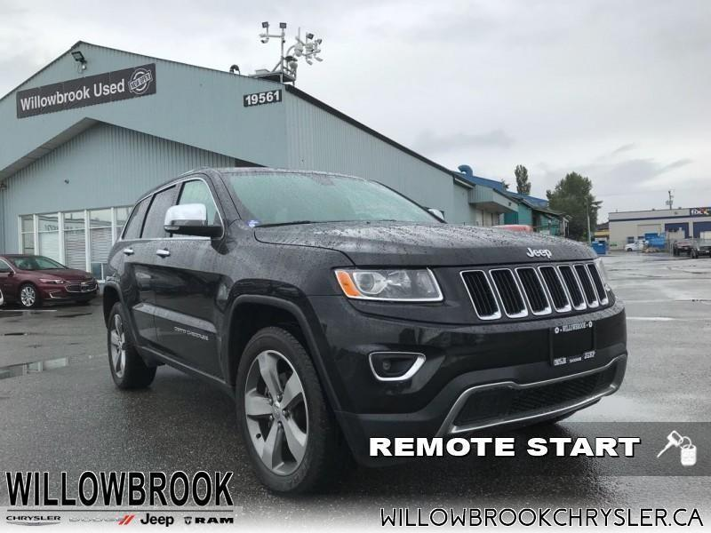 2015 Jeep Grand Cherokee Limited #4UP238B