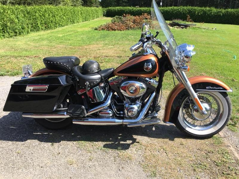Harley Davidson softail deluxe 2008