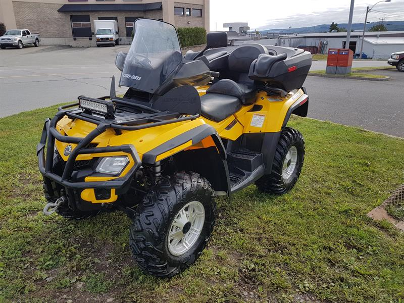 BOMBARDIER CAN-AM OUTLANDER MAX XT 650 2011