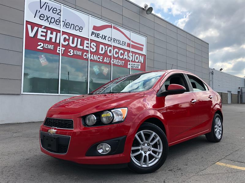 Chevrolet Sonic 2013 4dr Sdn LT Auto+TOIT+MAGS+A/C+GR.ELEC+WOW! #UD4818