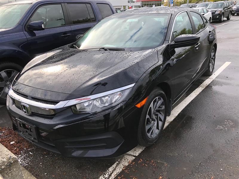 2016 Honda Civic Sedan EX CVT. Honda Certified Extended Warranty to #LH8299