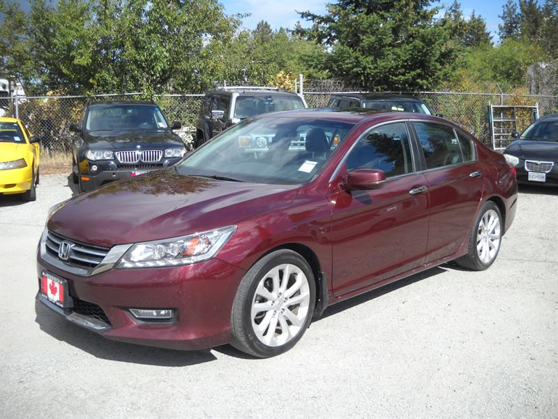 2013 Honda Accord Sedan Touring, ONLY 64 KMS #3226-1
