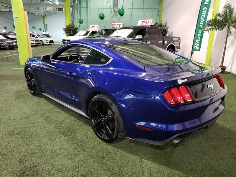 ford mustang 2dr fastback ecoboost 2015 occasion vendre longueuil chez autobonjour. Black Bedroom Furniture Sets. Home Design Ideas
