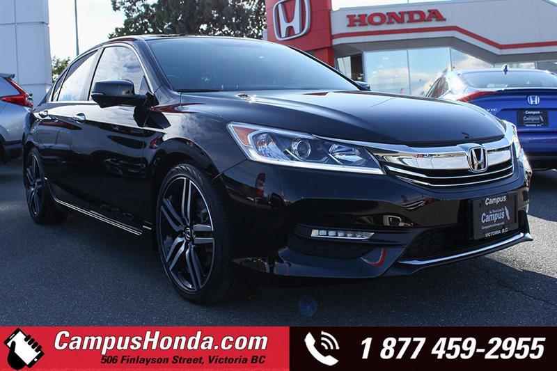 2016 Honda Accord Sedan Sport MT Bluetooth #18-0921A