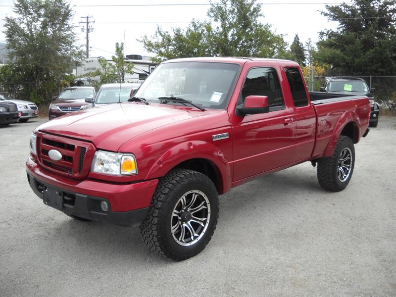 2007 Ford Ranger  SuperCab 4X4....SOLD.... #3280