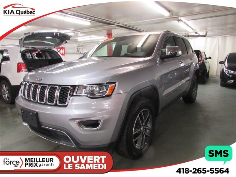 Jeep Grand Cherokee 2017 Limited *V6 *4X4* TOIT OUVRANT* #QU10246