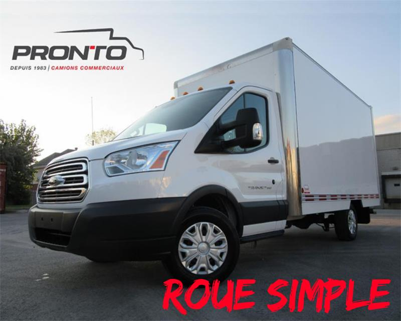 Ford Transit Cutaway 2017 T-350 ** CUBE 14 pieds ** #3723