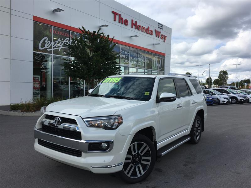 2015 Toyota 4Runner Limited 4WD V6 WIN A $12,000 TRIP! #P5188