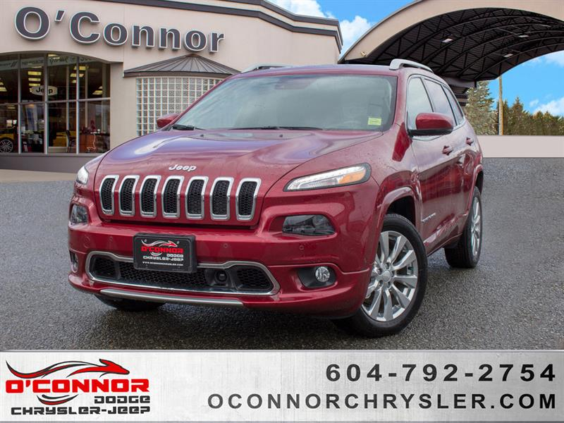 2017 Jeep Cherokee Overland #U15518