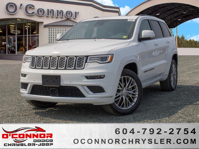 2018 Jeep Grand Cherokee Summit  Full Load #U16301