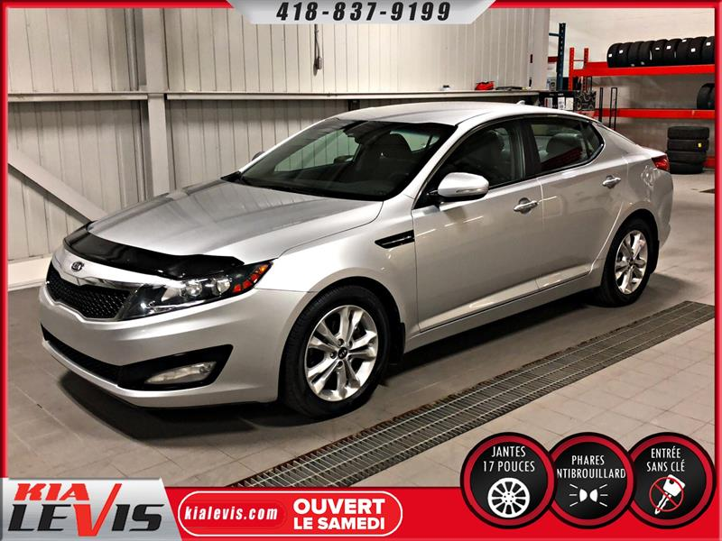 Kia Optima 2011 EX-AUTO-FULL-CUIR-MAGS 17'' #1180B
