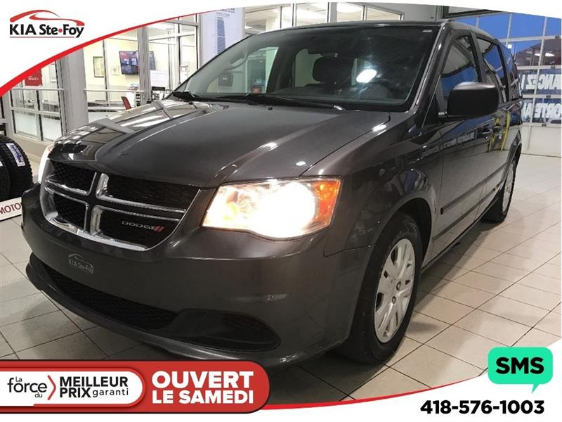 Dodge Grand Caravan 2016 SE* HITCH 7 BRINS* A/C* CRUISE CONTROL* #181677A