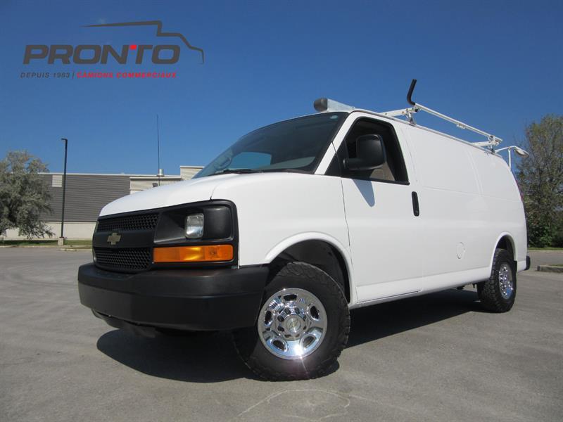 Chevrolet Express Cargo Van 2012 2500 ** Voir équipement! **  #3725