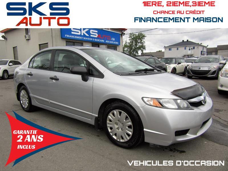 Honda Civic Sdn 2009 (GARANTIE 2 ANS INCLUS) *FINANCEMENT MAISON* #SKS-4197-2