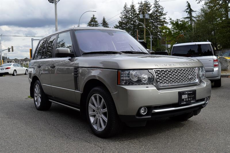 2011 Land Rover Range Rover HSE LUX SC - LOCAL / BOARDS #CWL8726M